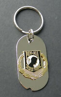 K-9 K9 CORPS MILITARY DOG EMBROIDERED KEY CHAIN KEY RING 1.75 X 2.75 INCHES