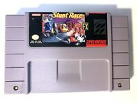 Stunt Race FX SUPER NINTENDO SNES Game - Tested - Working & Authentic!