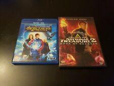 Nicolas Cage Walt Disney Dvd/Bluray Lot Sorcerers Stone National Treasure 2 (6A)
