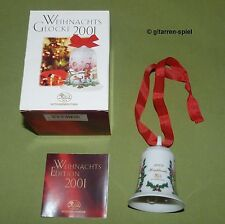 """Hutschenreuther Weihnachtsglocke 2001 """"Highlands"""" in der OVP Neuwertig 1A TOP!"""