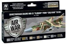 Vallejo 71.606 - Colour Kit, MiG-23 Flogger-B, 8 x 17 ML (14,56 €/ 100ml) - New