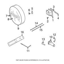 🔥 Mopar Mountinh Bracket Spare Tire Carrier For Jeep Wrangler 1987-2006 🔥