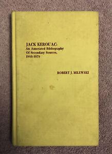 SIGNED by POET & KEROUAC BIOGRAPHER TOM CLARK - JACK KEROUAC BIBLIOGRAPHY - 1st
