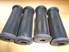 4-BMW /2 /5 /6 ROUND FOOT PEG RUBBERS NEW GENUINE BMW PART. NOT  REPRODUCTION