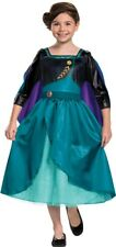 Queen Anna Classic Toddler Costume Frozen II Character Turquoise Dress