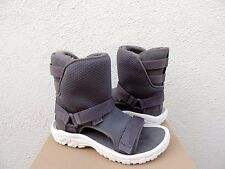 TEVA/ UGG COLLAB GREY SHEEPSKIN HYBRID BOOT SANDALS, WOMENS US 7/ 38 ~ NEW