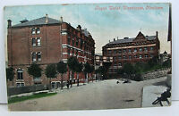 POSTCARD: Royal Welsh Warehouse, Newtown, Posted, Valentine's