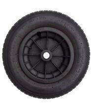 """14"""" BLACK Pneumatic Wheelbarrow Wheel Tyre 3.50 / 4.00 - 8 Inner Tube Innertube"""