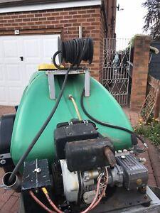 Pressure Washer 10hp Yanmar Diesel Engine with Bowser on Street Legal Trailer