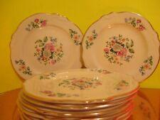 Homer Laughlin Virginia Rose Marsh Bouquet Bread & Butter Plates