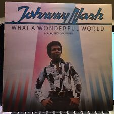 Johnny Nash What A Wonderful World Including Birds Of A Feather Lp Vinyl Album