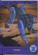 Transformers Optimum Generation 1 Foil Chase Card TF11 Ravage