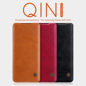 100%Nillkin PU Leather Flip Card Cover For Samsung Galaxy S20+ /S20Ultra 5G Case