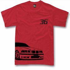Tshirt for BMW E36 fans M3 325 E36 t-shirt