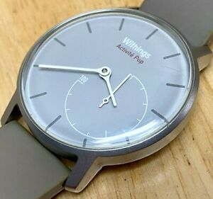 Withings Activite POP Silver Sleep Fitness Excise Activity Tracker Watch Hours