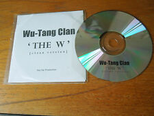 Wu-Tang Clan 'The W' Rare Clean 13 track Album - Not for Production CDR Promo