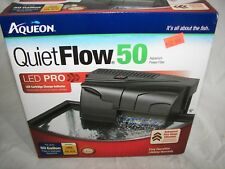 NEW  Aqueon Quiet Flow 50 Power Filter 250GPH includes filter Never Used L@@K!!!