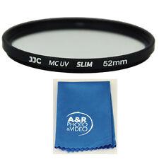 JJC 52m Multi coated UV Filter For Nikon 18-55mm 55-200mm 40mm 50mm 35mm SLIM