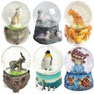Snow Globe Decoration - Animals Designs - Christmas Birthday Gift Idea
