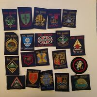 GIRL GUIDE Badges Patches NEW ZEALAND Collection Lot 20
