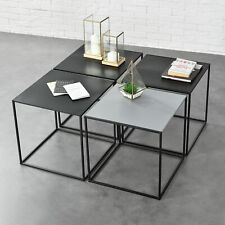 Table basse 100x60x30cm salon table d/'appoint béton-Optik MDF