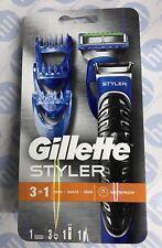 Gillette Fusion Proglide 3-in-1 Styler Razor Beard Shaving Trimming Edging Blade