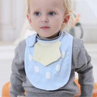 Cartoon Toddler Lunch Bibs Burp Cloths Baby Girl Boy Feeding Saliva Towel S