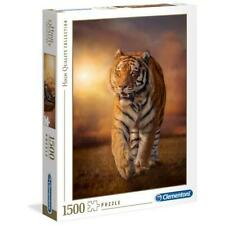 CLEMENTONI 31806 - Puzzle Tiger - 1500 pezzi - High Quality Collection
