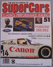 SUPERCARS magazine Issue 51 Featuring Porsche 956/962 cutaway drawing, Ford
