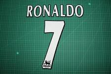 F.A. Premier League Player Size Name & Numbering Printing #7 RONALDO
