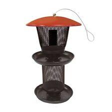 No/No Multi-Seed Feeder Red/Black Sweet Corn Products Wild Bird Feeders 80065