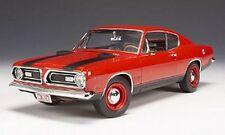 1969 Plymouth Barracuda R4 ORANGE 1:18 Highway 61 50571