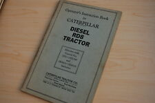 CATERPILLAR RD8 Tractor Crawler Dozer Owner Operator Operation Manual book guide