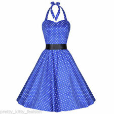 Rockabilly Party Sleeveless Dresses for Women