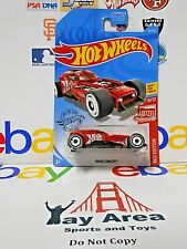 RARE 2019 Hot Wheels HW50 Concept (Red Variant) Red Edition #9/12 Best For Track