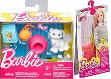 Barbie Pet Cat Set & Fashion Accessories Pack Shoes Purse Necklace Bracelet LOT