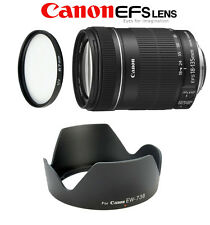 CANON EF-S 18-135 mm f/3.5-5.6 IS STM + PARALUCE EW 73B+FILTRO UV