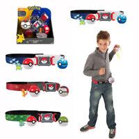 Pokemon Clip N GO Carry Poke Ball Toys Cross Belt Game Kids Gift UK Stock Fast