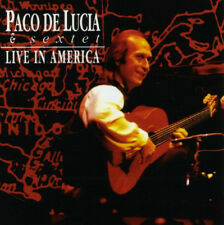 Paco De Lucia & Sextet ‎– Live In America / Phonogram Records CD 1993 ‎– 518 809