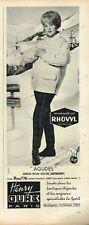 K- Publicité Advertising 1961 Les Vetements de ski Henry Ours Anorak
