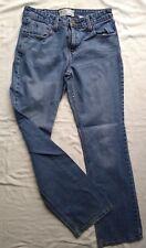Women's Levi's Strauss Denim Blue Jeans Sz 10 L Mid Rise Boot Cut 32x33