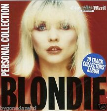 BLONDIE - PERSONAL COLLECTION 10 TRACK COLLECTORS MAIL ON SUNDAY CD