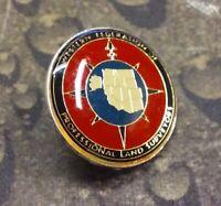 Western Federation of Professional Land Surveyors vintage pin badge