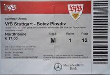 TICKET UEFA EL 2013/14 VfB Stuttgart - Botev Plovdiv