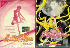 Sailor Moon Season 1-5 + 3 Movie + 2 Special + Crysta Anime DVD 0 Region Box Set