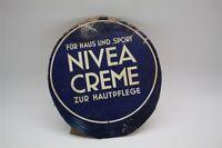 De Nivea Crema - Antiguo Cartel Cartón Soporte Publicitario Di.Alrededor 1930