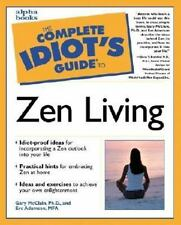 The Complete Idiot's Guide to Zen Living paperback for dummies  Brand  NEW