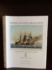 AMERICAN NAVAL BROADSIDES-Edgar Newbold Smith-1974 - naval prints