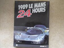 1989 LE MANS ANNUAL ACO OFFICIAL YEARBOOK MOITY TEISSEDRE MERCEDES