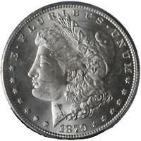 1879-S Morgan Silver Dollar PCGS MS65 Blazing White Gem Nice Strike STOCK